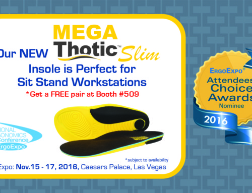 Announcing Our New MEGA-Thotic™ Slim Insoles!