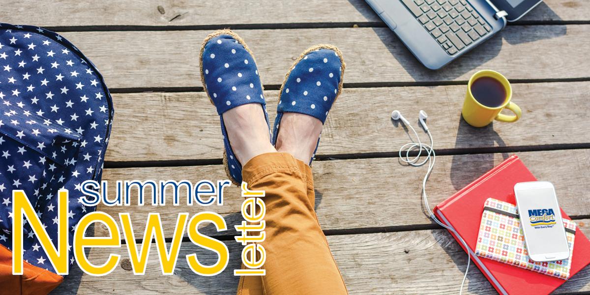 megacomfort summer newsletter