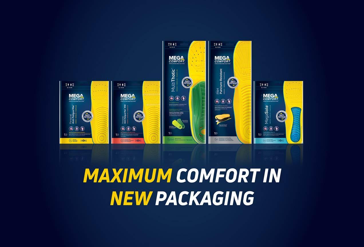MEGAComfort MEGASole Anti-Fatigue Insoles; Original Dual Layer 100/% Memory...