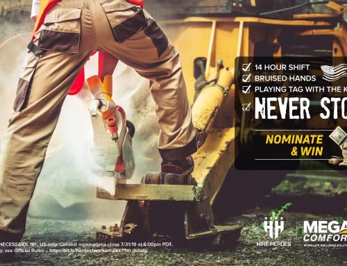 MEGAComfort launches Hardest Worker Contest 2019