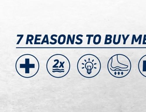 7 Reasons to buy MEGAComfort